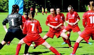 Equipe de footballeuses professionnelles