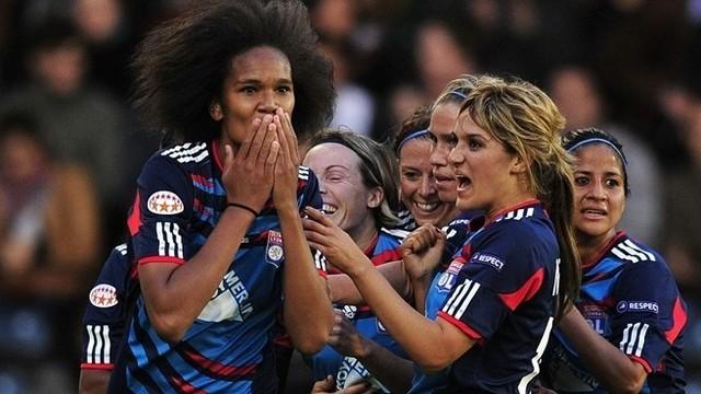 Les footballeuses de l'équipe de France
