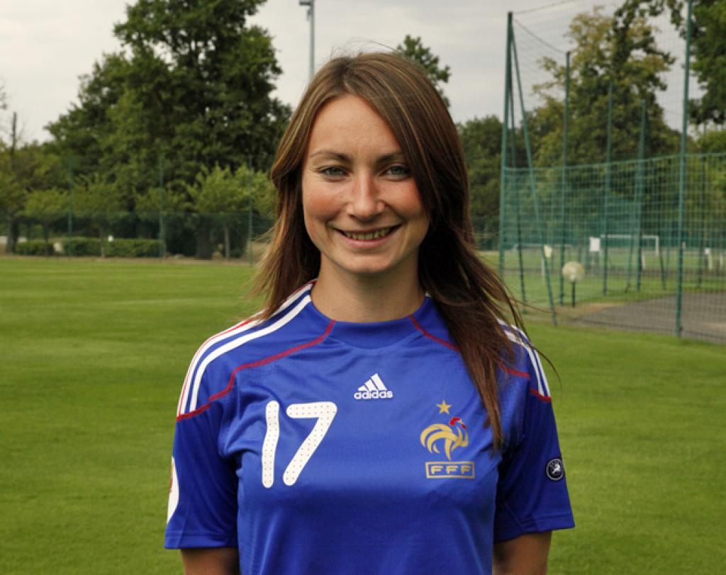 Gaëtane Thiney, footballeuse Française