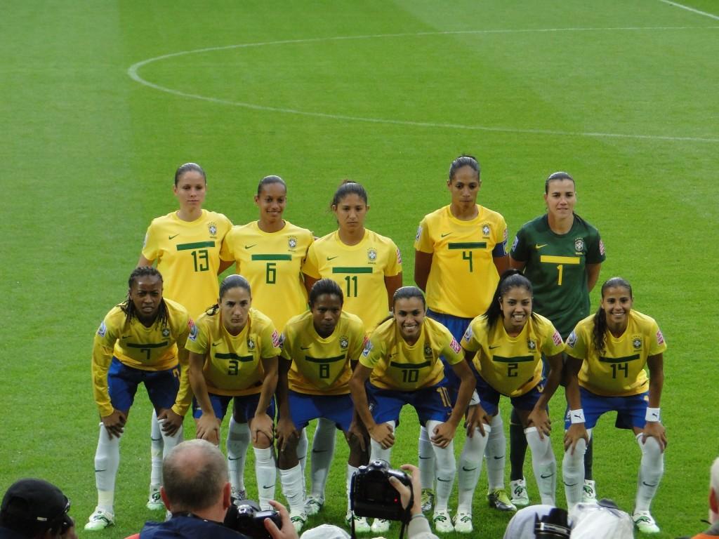 Footballeuses du Brésil