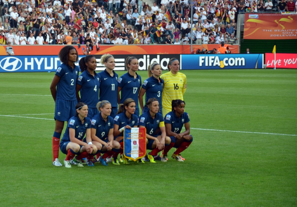 Equipe de france de foot féminin, les footballeuses françaises